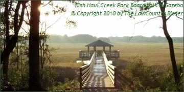 Morning at Fish Haul Creek Park Gazebo